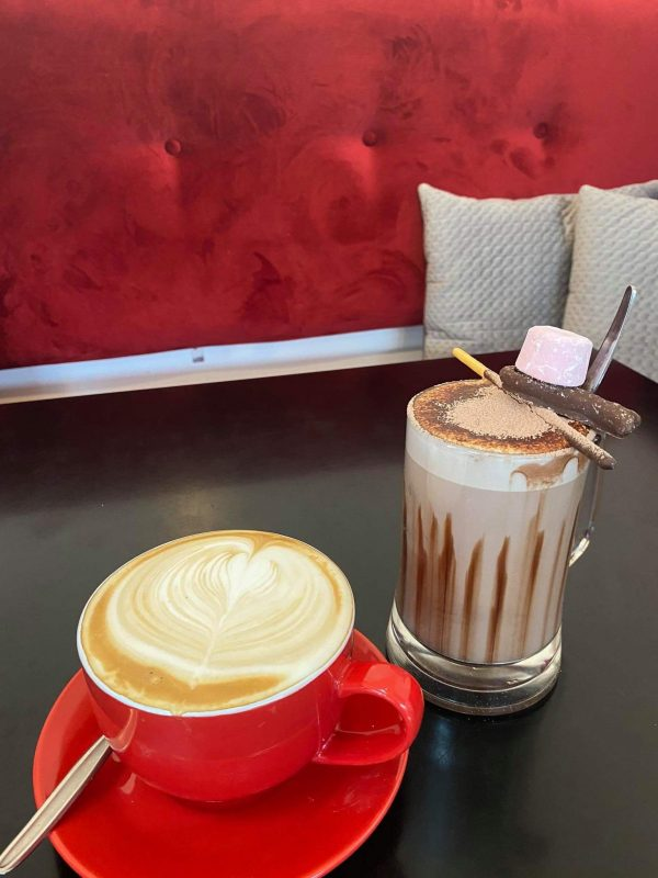 Hot Chocolate Rubys Cafe